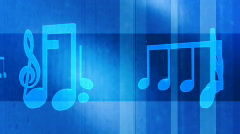Blues music three  Stock Footage