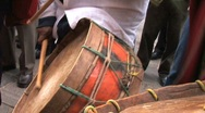 Stock Video Footage of Peru drummers