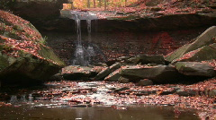 0706-B015 - Blue Hen Falls - stock footage