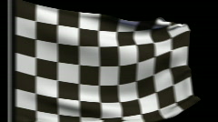 F1 Flag Transitions 1080P HD Stock Footage