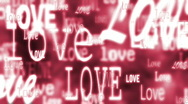 Love in red Stock Footage