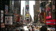 Stock Video Footage of Times Square static full