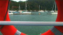 Pleasure boat trip  Stock Footage
