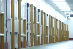 Warehouse Chambers Stock Footage