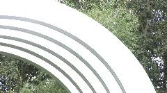 Modern Sculpture 1 Stock Footage