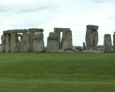 Stonehenge, close up Stock Footage