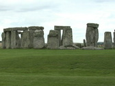 Stock Video Footage of Stonehenge, close up