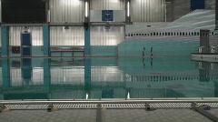 Swimming pool 00 Stock Footage