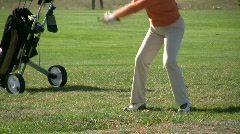 Golf time Stock Footage