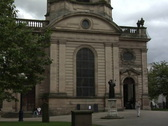Stock Video Footage of St Philip's Cathedral Birmingham