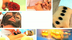 Spa treatment and beauty Stock Footage