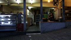 Indian street food Stock Footage