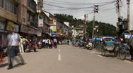 Stock Video Footage of Indian streets time lapse (w/sound)