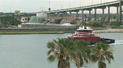 Tug Boat Corpus Christi TX M HD Stock Footage