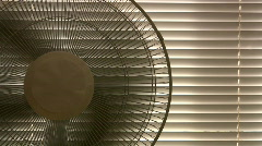 Cooling Electric Fan Stock Footage