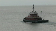 Stock Video Footage of Tug Boats cross Corpus Christi TX M HD