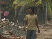 Stock Video Footage of Tsunami Destruction 1