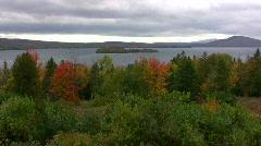 Rangeley Lake Maine Stock Footage