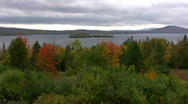 Stock Video Footage of Rangeley Lake Maine