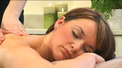 Spa treatment & relaxation Stock Footage