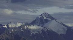 Mountain range time lapse 5 Stock Footage