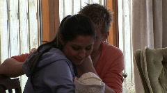 Pariskunta on uusi syntynyt vauva 2 Arkistovideo