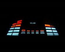 Volume Meter PAL Stock Footage