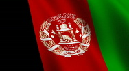 Stock Video Footage of Flag of Afghanistan
