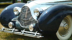 Vintage car Stock Footage