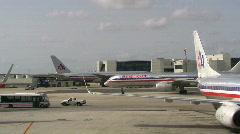 Airport Acitivity Stock Footage