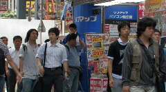 Stock Video Footage of Akihabara District, Tokyo