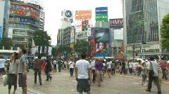 Shibuya, Tokyo - stock footage