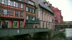 Stock Video Footage of Strasbourg - Petite France - France