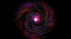 Vortex star Stock Footage