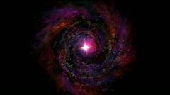 vortex star - stock footage