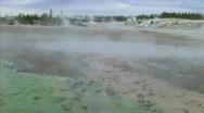 Steam towards camera Stock Footage