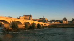 Loire Valley - Chateau d´Amboise Stock Footage
