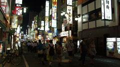 Kabukicho District in Shinjuku, Tokyo Stock Footage