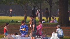 Yoyogi Park in Tokyo Stock Footage