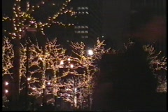 Walking in New York before Christmas - stock footage