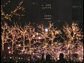 Walking in New York before Christmas Stock Footage