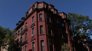 Stock Video Footage of Brownstone Archetecture