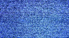 Magnifier and tv screen Stock Footage