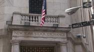 New York Stock Exchange Stock Footage