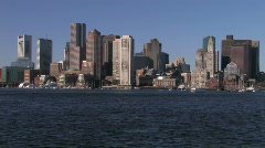 Boston Skyline - stock footage