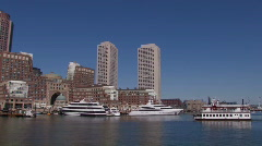 Boston Harbor Stock Footage
