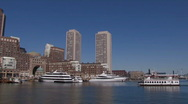 Stock Video Footage of Boston Harbor