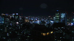 Tokyo by Night, Japan - stock footage
