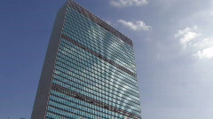 United Nations Building Stock Footage
