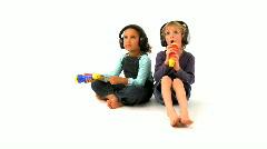 Little singers Stock Footage